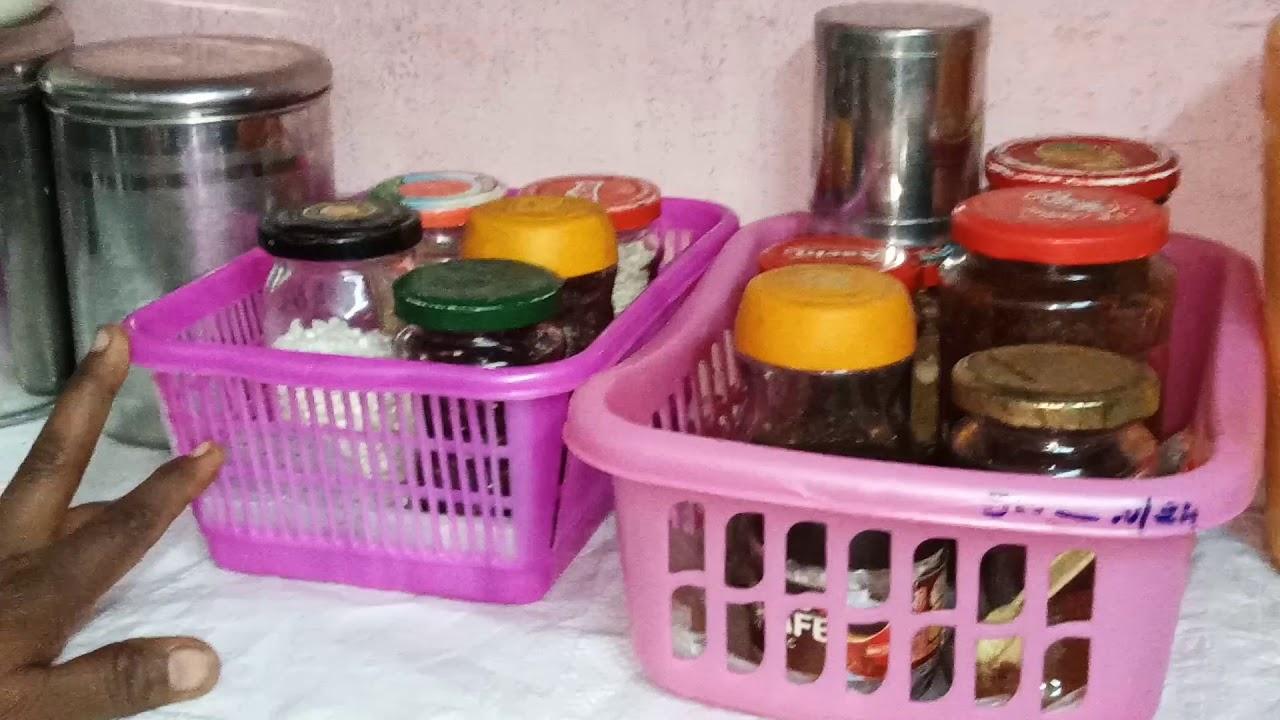 Kitchen Tour Small Kitchen Organization Ideas In Tamil Kalaivani Kitchen