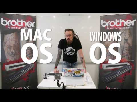How to use Brother Printer & Scanner – Tattoo Artist Paul Talbot Setup Guide & Tutorial