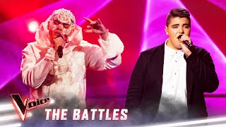 The Battles: Sheldon Riley v Jordan Anthony 'Praying' | The Voice Australia 2019