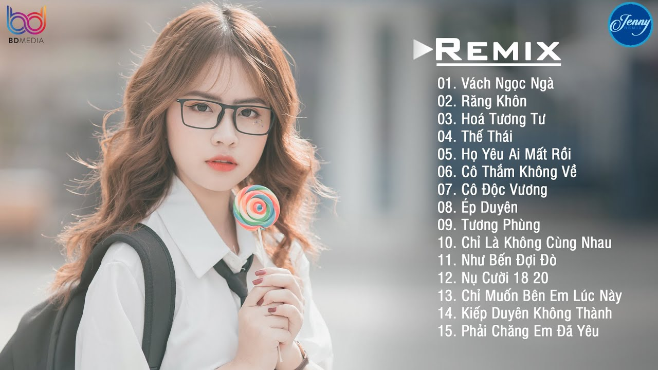 NHẠC TRẺ REMIX 2021 HAY NHẤT HIỆN NAY EDM Tik Tok JENNY REMIX - Lk Nhạc Trẻ Remix 2021 Cực HOT