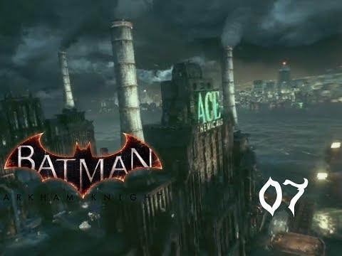 ACE CHEMICALS ⚫️ LET´S PLAY BATMAN ARKHAM KNIGHT #07 [German] PS4