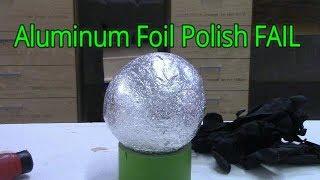 Japanese Aluminum Foil Ball Challenge / FAIL