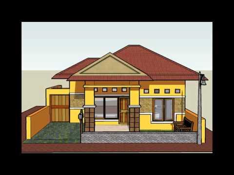 gambar desain rumah 80 meter - youtube