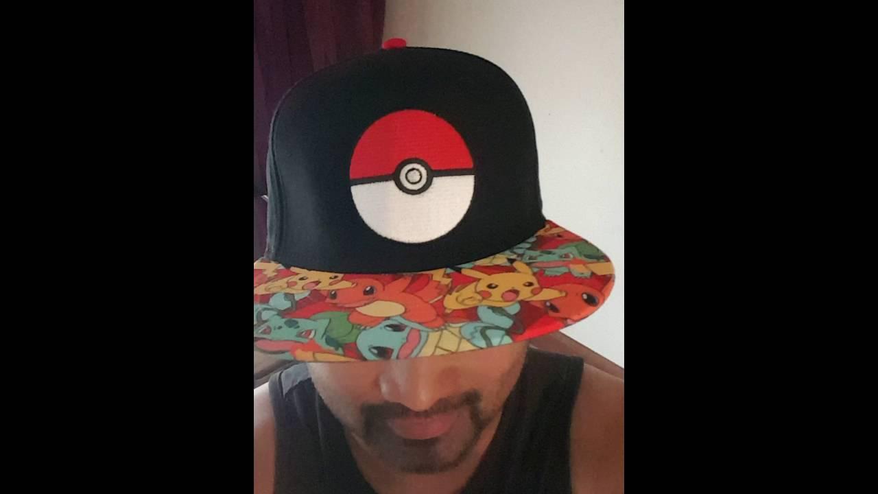 e45c93a63 Pokémon Starters Sublimation Bill Snapback Hat
