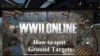 How to spot ground targets in Battleground Europe WWII Online