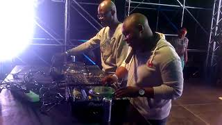 Gambar cover Black Coffee and DJ Shimza Live at the One Man Show Music Festival 13th September 2014.