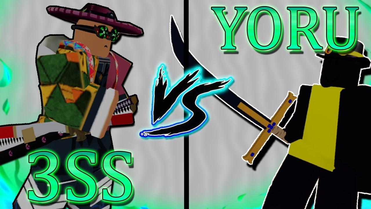 3 Sword Style Vs Yoru