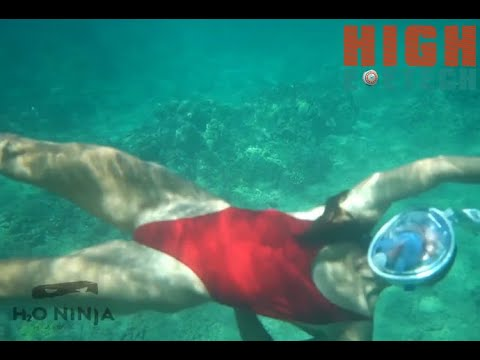 Easybreath With Ninja Shark Dive    Have More Fun On The Water