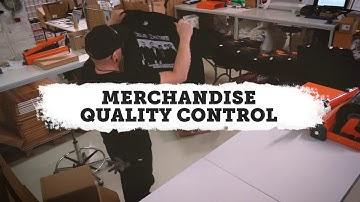 Backstage Rock Shop - Merchandise Quality Control