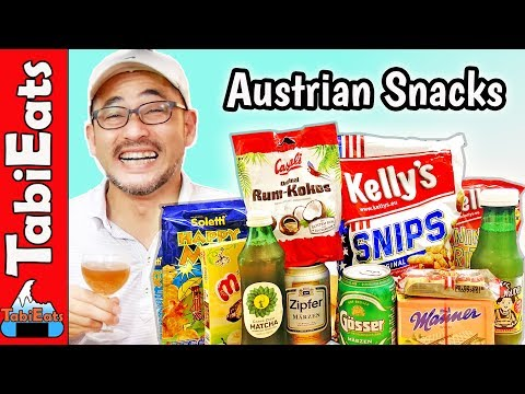 Trying Austrian Snacks and Treats (TASTE TEST)