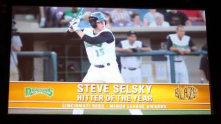 2012 Cincinnati Reds Minor League Awards