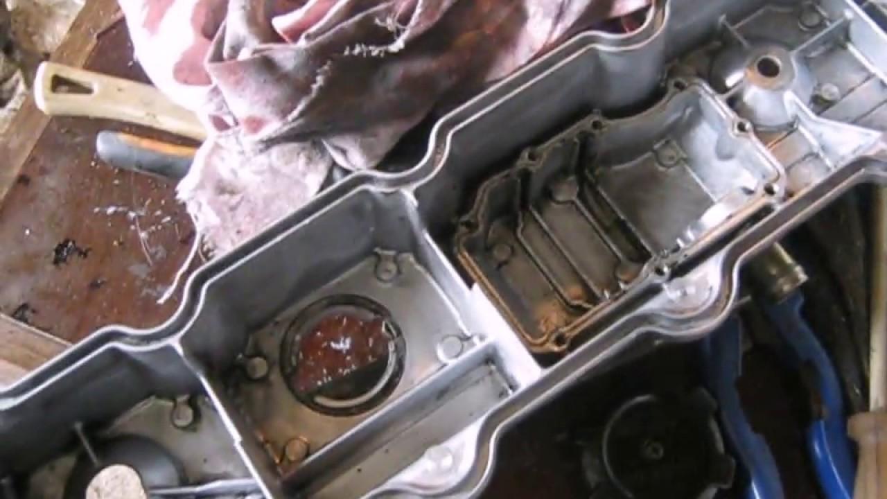 одна из причин почему турбина кидает масло двигатель 4м40,Мицубиси паджеро(Mitsubishi Pajero)