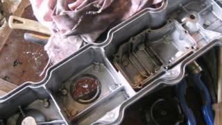 одна з причин чому турбіна кидає масло двигун 4м40,Міцубісі паджеро(Mitsubishi Pajero)