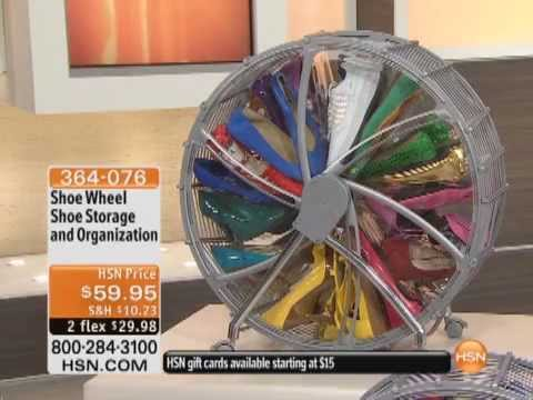 & Shoe Wheel Shoe Storage and Organization - YouTube