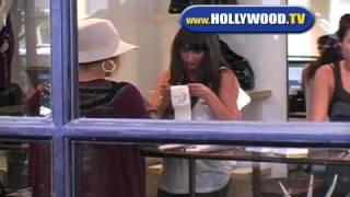 Jennifer Lopez shopping at Curve boutique