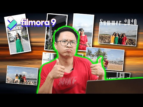 Memory Photo Slideshow - Filmora 9 Effect Tutorial