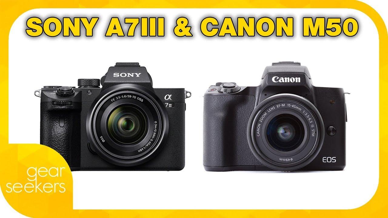 Sony A7iii & Canon EOS M50 Announced and Fujifilm X-H1