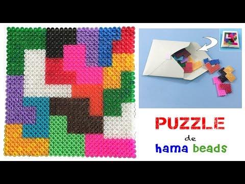 Puzzle con hama beads