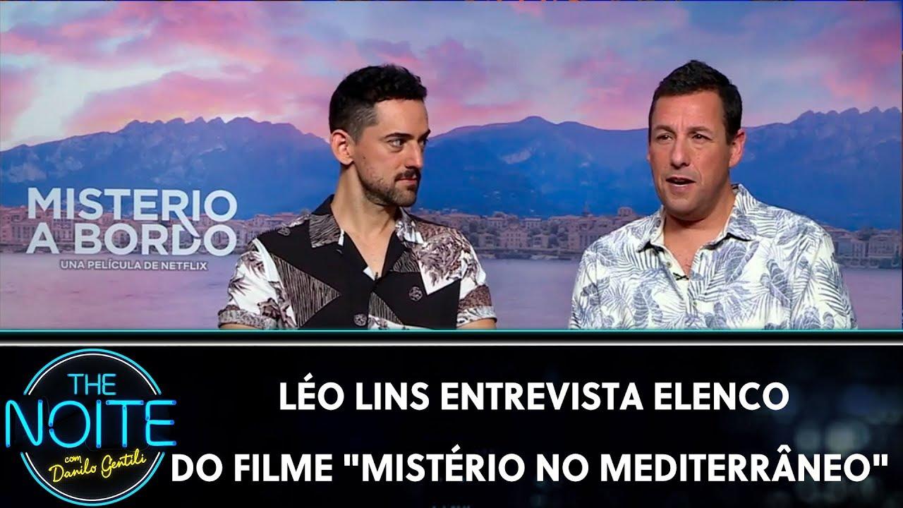 Léo Lins entrevista elenco do filme