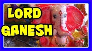 GANESH FESTIVAL 2015 - Indian Festival Artist Making Statue / Idol of Lord Ganesh The Hindu God