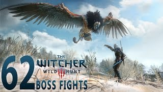 Witcher 3 - Boss Fights (Death March, No Damage, Combat Build, 62 Battles, Patch 1.06)