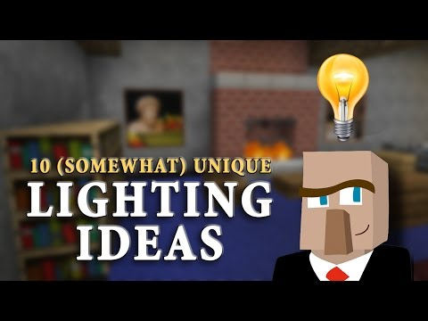 10 unique lighting ideas improve the look of your minecraft builds duration 928 adults only minecraft 45299 views aesthetic lighting minecraft indoors torches