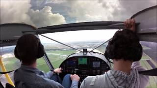 Flying into the 2015 Sebring U.S. Sport Aviation Expo with the Zenith STOL CH 750