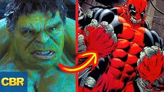 10 Unreal Versions Of Hulk The MCU Would Never Try!