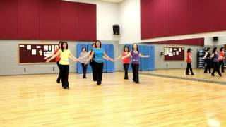 All The Way Down - Line Dance (Dance & Teach in English & 中文)