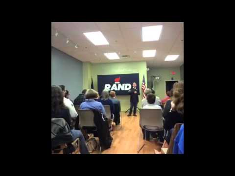 Rand Paul Speech in New Hampshire