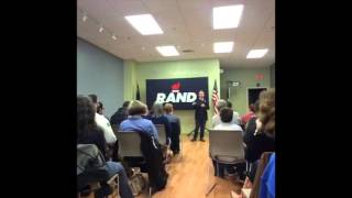 Rand Paul Speech in New Hampshire