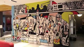 POD 51 Hotel New York City Affordable Hotel Room Queen Pod Review