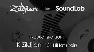 Zildjian 13 K Zildjian HiHat Cymbal Pair K0820