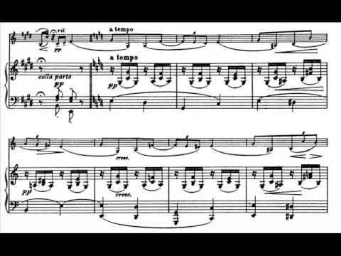 Hamelin and Berick play Elgar - La Capricieuse, op. 17 Audio + Sheet music