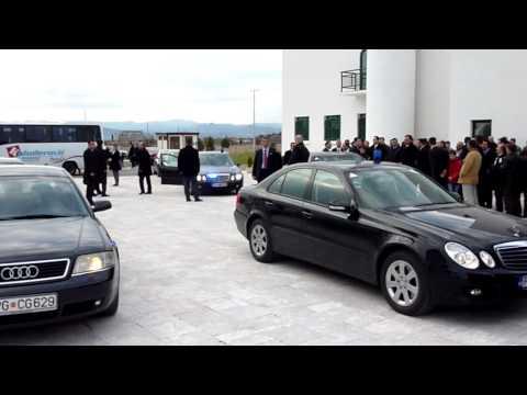 Presjednik Abdulah Gul u Medresi Podgorica,Tuzi, Seher-TUZI,Crna Gora