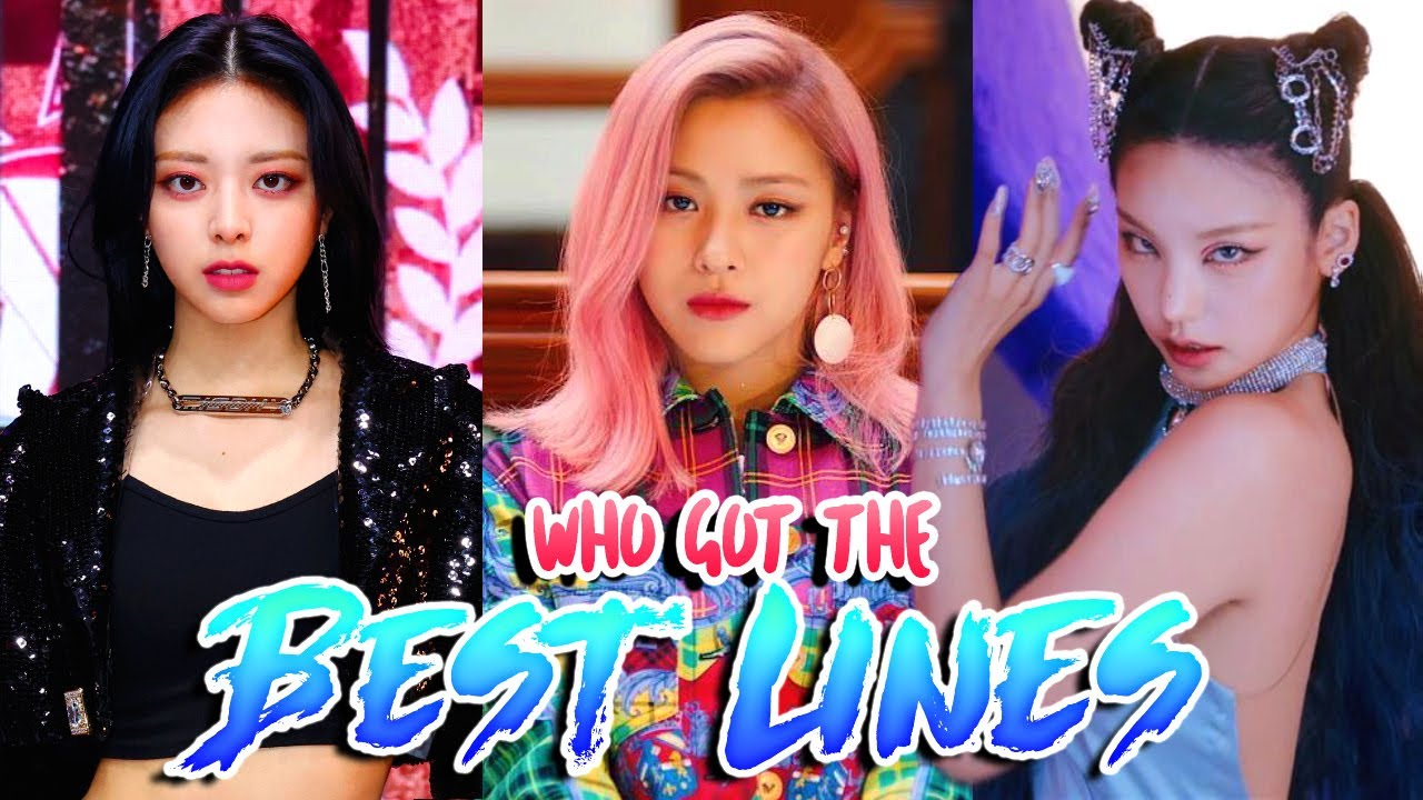 Download ITZY Member with the best Lines in each Song!