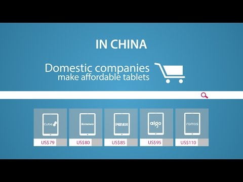 Different Paths For Tablets In APAC