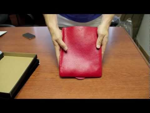 Sena UltraSlim Leather Case For IPad 2 / 3 With SmartCover Review