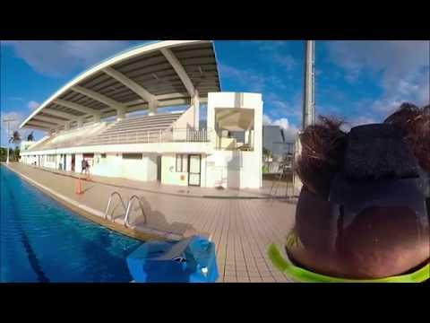 Ironman Training Camp in Fiji - Tri Nirvana Swim session 360 Video VR