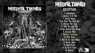 Needful Things - Deception LP FULL ALBUM (2018 - Grindcore)