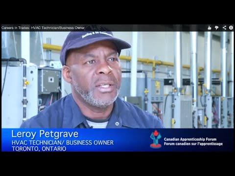 Careers in Trades: HVAC Technician/Business Owner