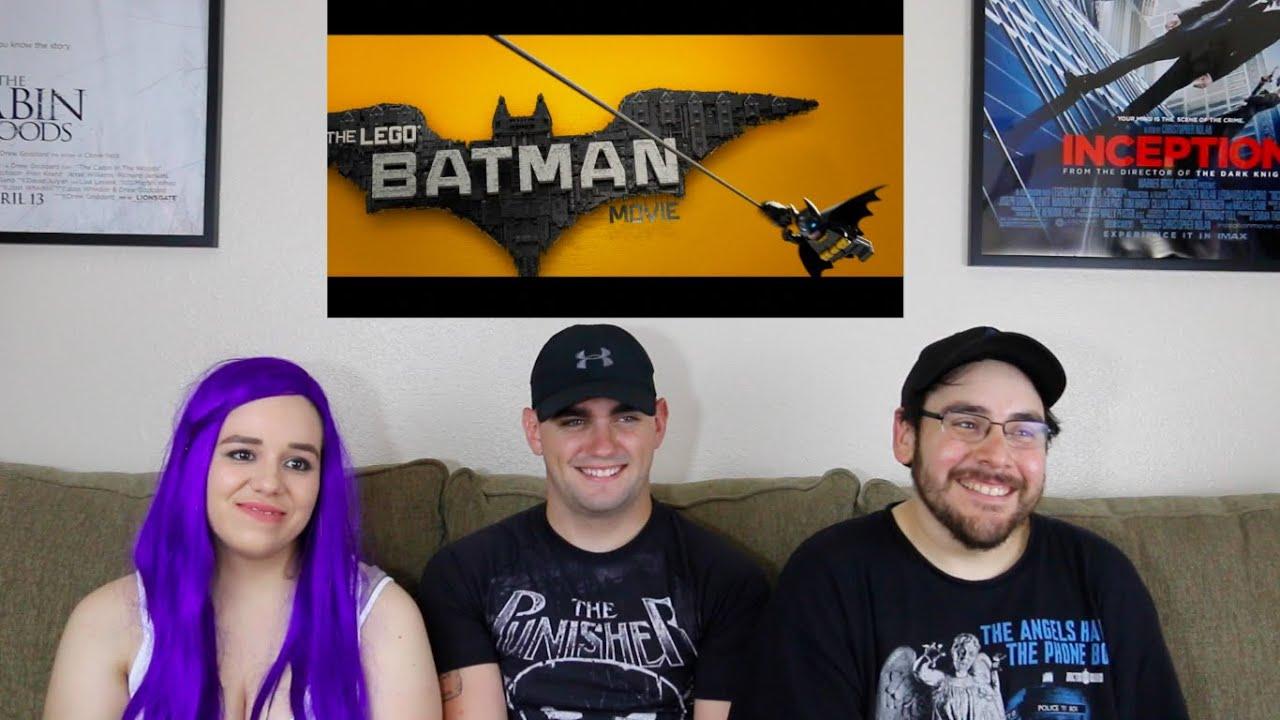 Lego Batman - Comic-Con Trailer Reaction - YouTube