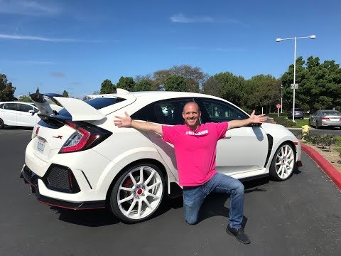 What's new for the 2018 Civic, Type R & Fit from HFP
