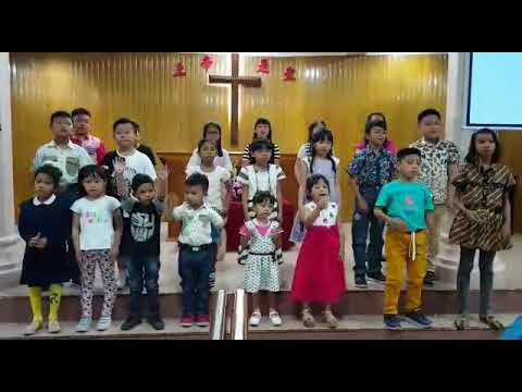 Pujian Anak Sekolah Minggu GMI EbenHaezer Bireuen / Biren (Berakar Brtumbuh Berbuah dalam Kristus)