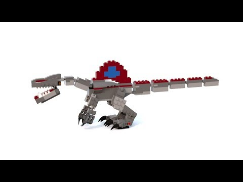 How to build a jurassic park 3 styled lego spinosaurus - Lego spinosaurus ...