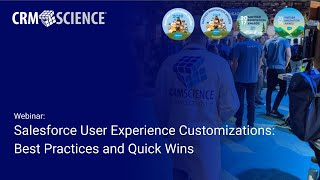 Webinar - Salesforce User Experience Customizations: Best Practices and Quick Wins