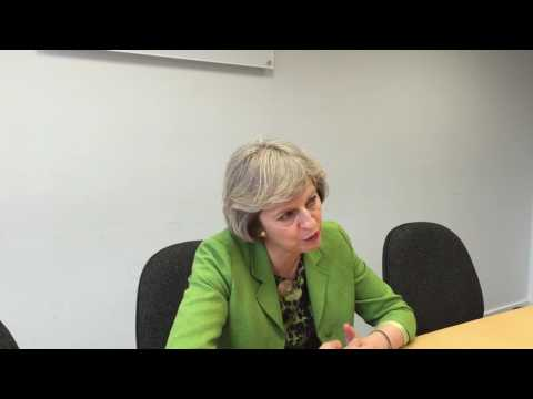 INTERVIEW: Five minutes with Theresa May MP
