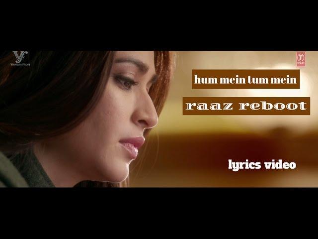 RAAZ REBOOT  - HUMMEIN TUMMEIN JO THA (PAPON   PALAK MUCHHAL) - FULL SONG WITH LYRICS