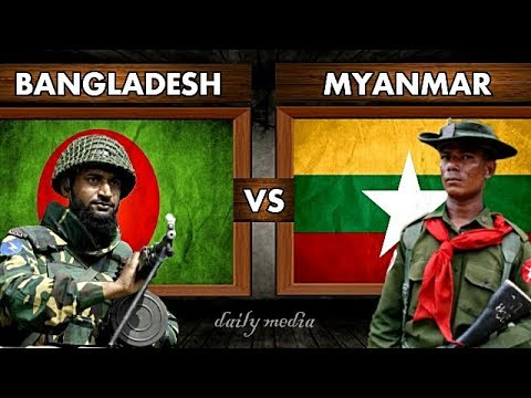 Bangladesh vs Myanmar - Military Power Comparison 2017 (Late