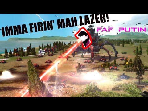 Supreme Commander Я стреляю лазером!
